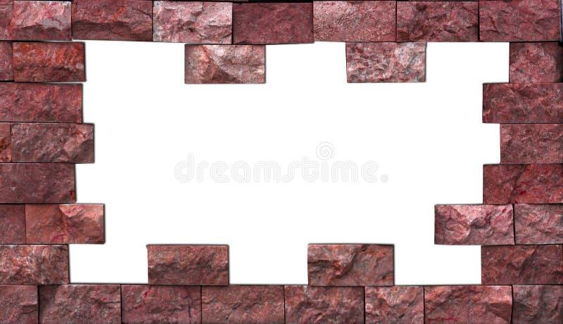 I campioni delle mattonelle del marmo Variegated illustrazione di stock