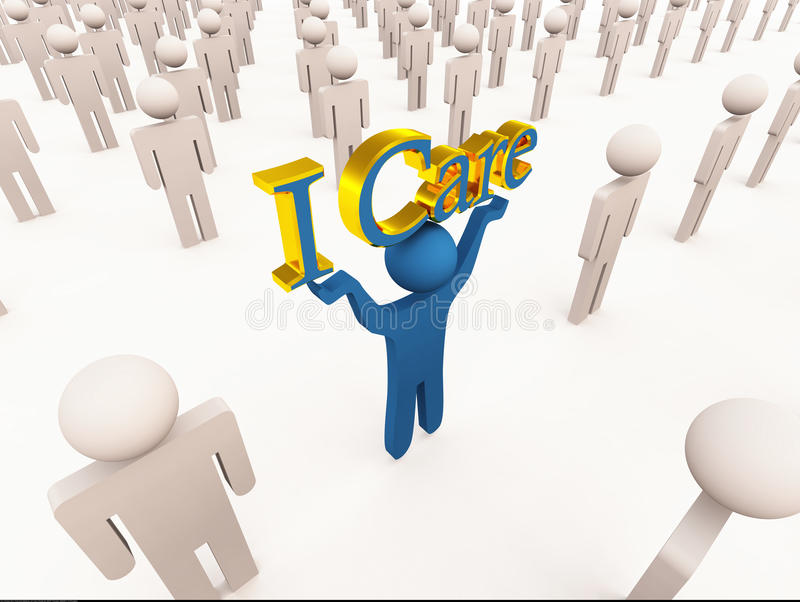 Download I Care Royalty Free Stock Photo - Image: 24395545