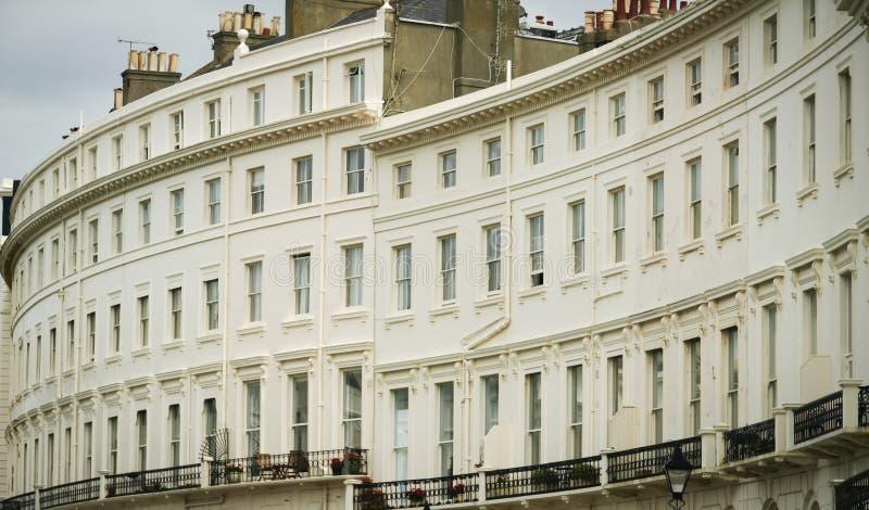 Appartamenti Brighton Sussex di periodo della reggenza fotografie stock