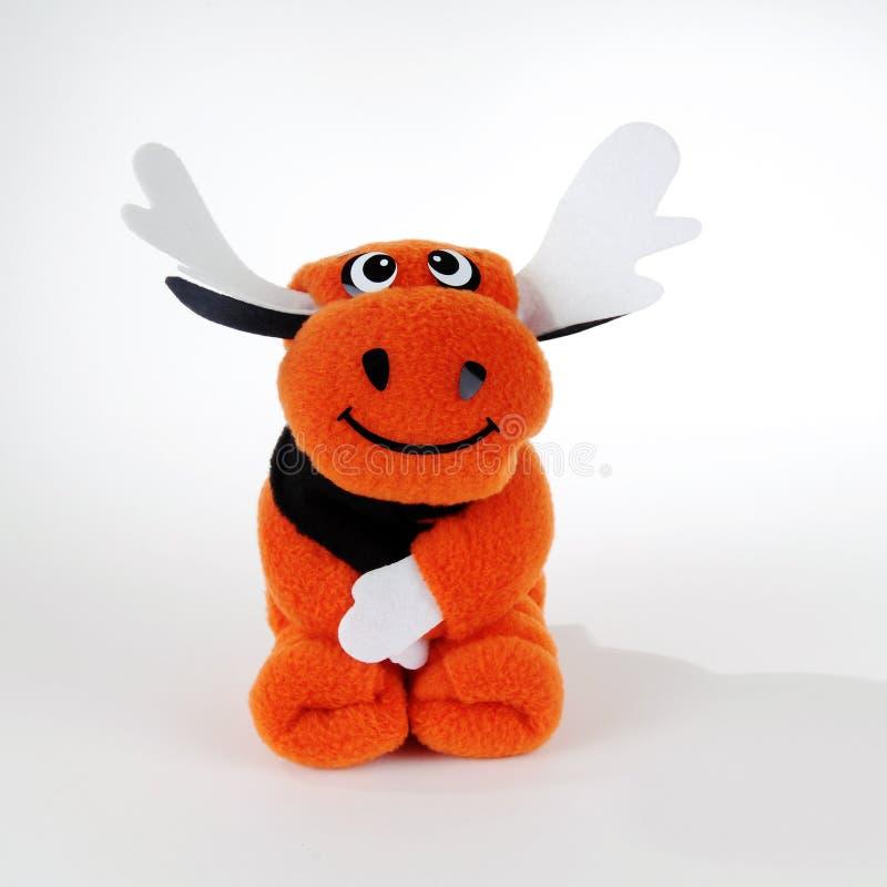 I cervi arancioni fotografia stock libera da diritti