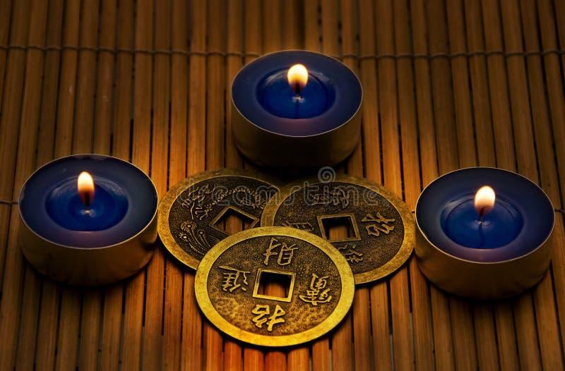 I-Ching stock afbeeldingen