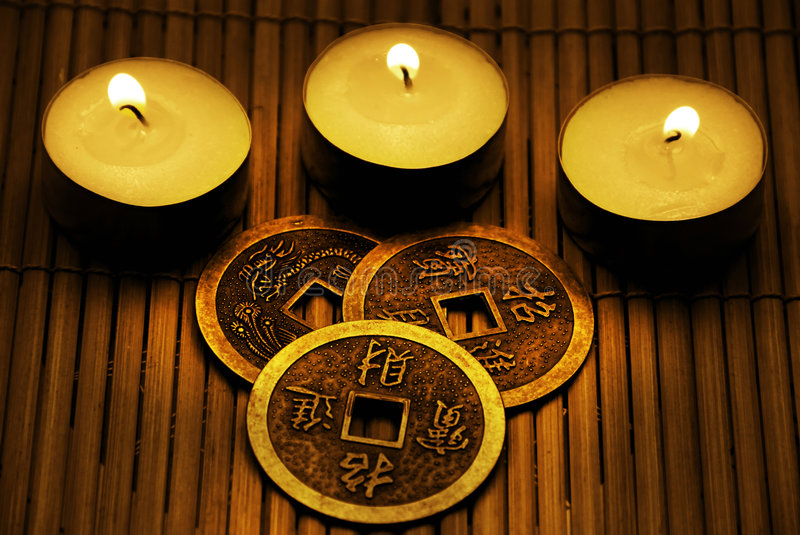 I-Ching stock foto's