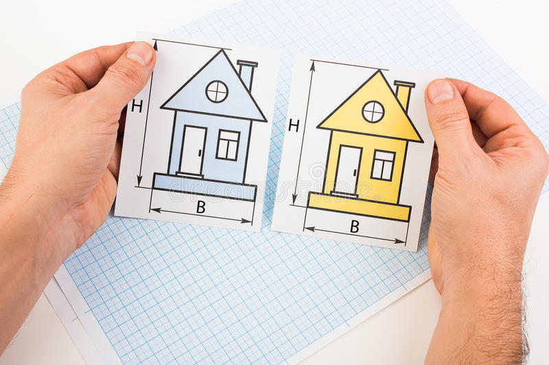 I choose the house stock photography