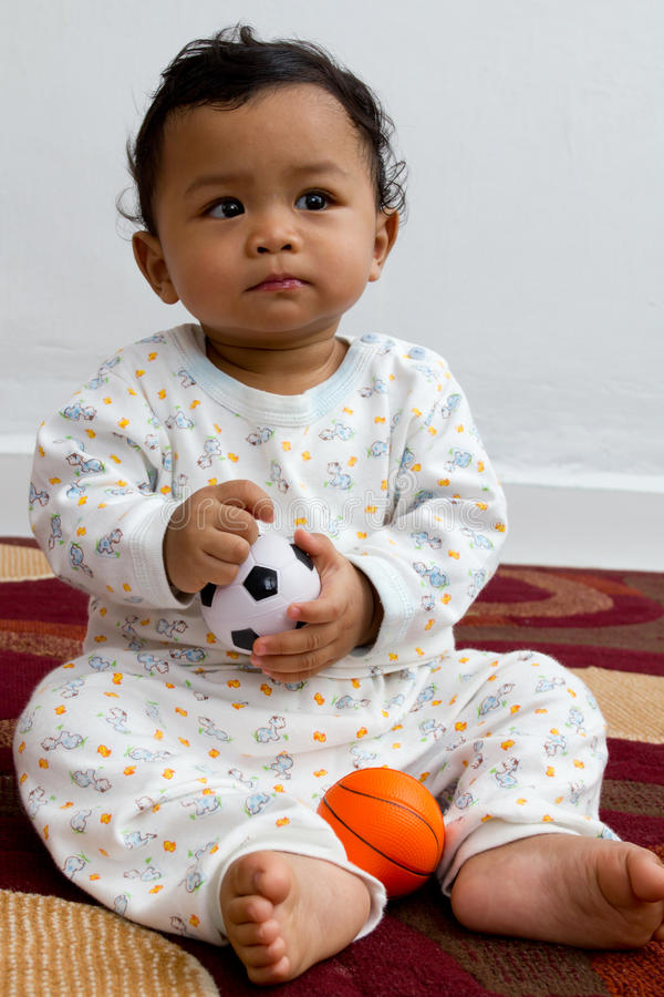 I choose soccer. royalty free stock photo