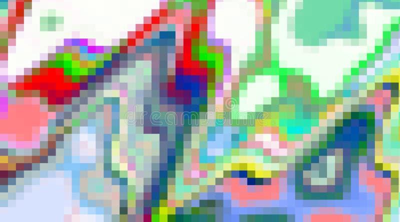 I colori astratti, fondo dei quadrati, miscela molle contrappone, linee, le forme, grafici Priorità bassa e struttura astratte royalty illustrazione gratis