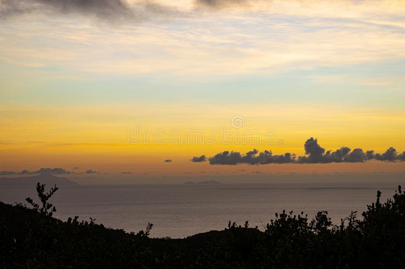 I colori del paradiso fotografia stock libera da diritti