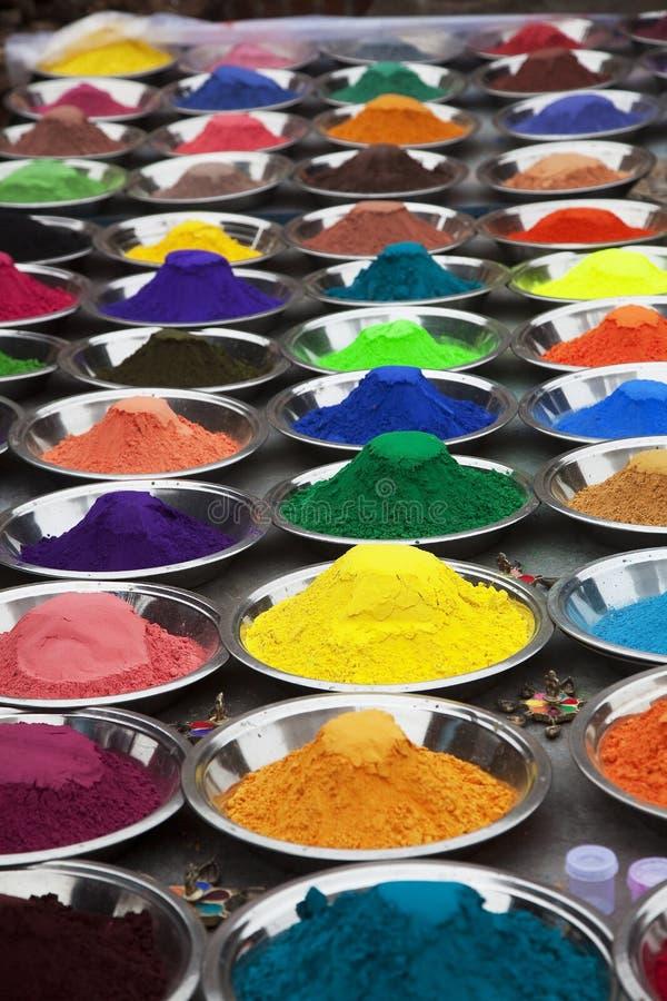 I colori dell'India fotografie stock