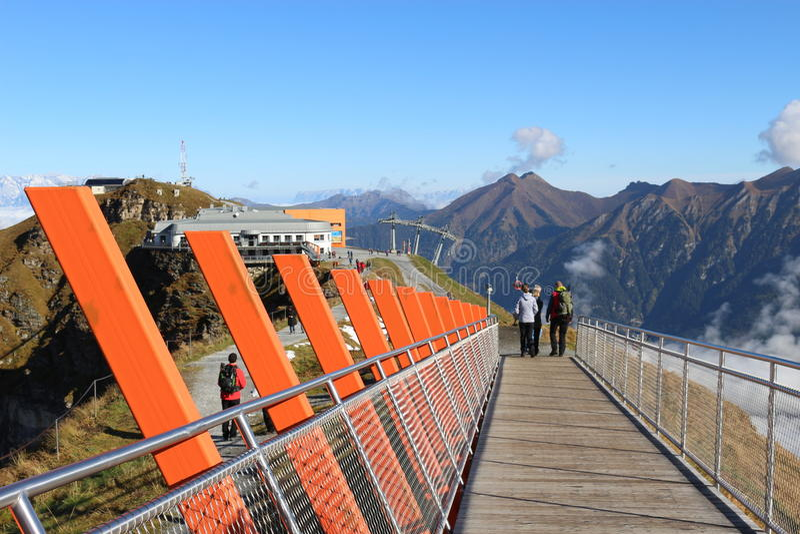 I de Gastein bergen Österrike royaltyfri bild