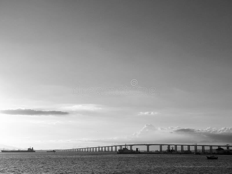 ³ i de Río x Niterà del puente foto de archivo libre de regalías