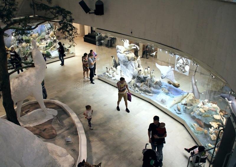 I den statliga Darwin Museum arkivbilder