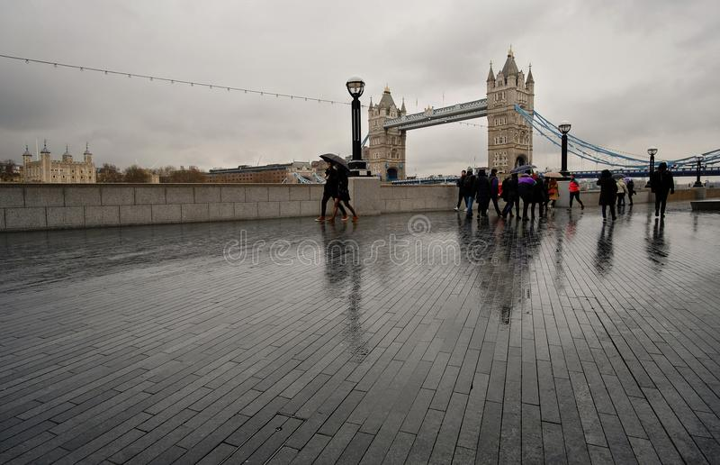 I detta tunna regn royaltyfri foto