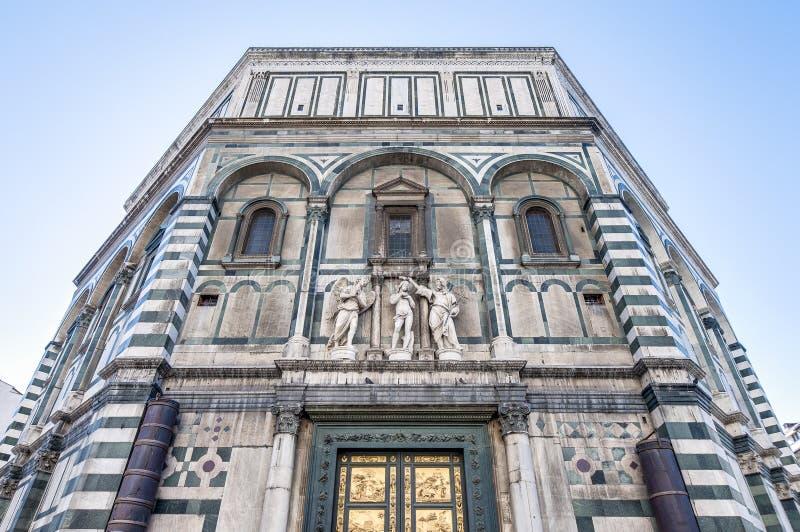 I Di San Giovanni di Battistero a Firenze, Italia immagine stock libera da diritti