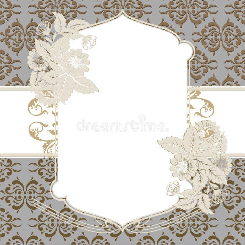 I divisori ornamentali hanno messo il fondo fotografie stock libere da diritti