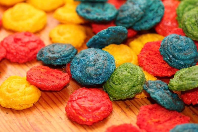 I dolci francesi della mandorla immagini stock libere da diritti