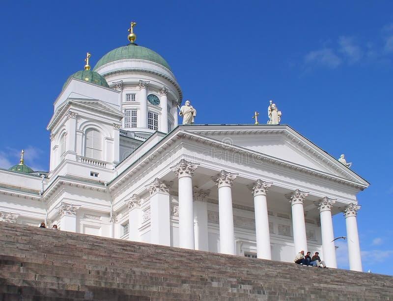 Download I DOM di Helsinki immagine stock. Immagine di bianco, finland - 212217
