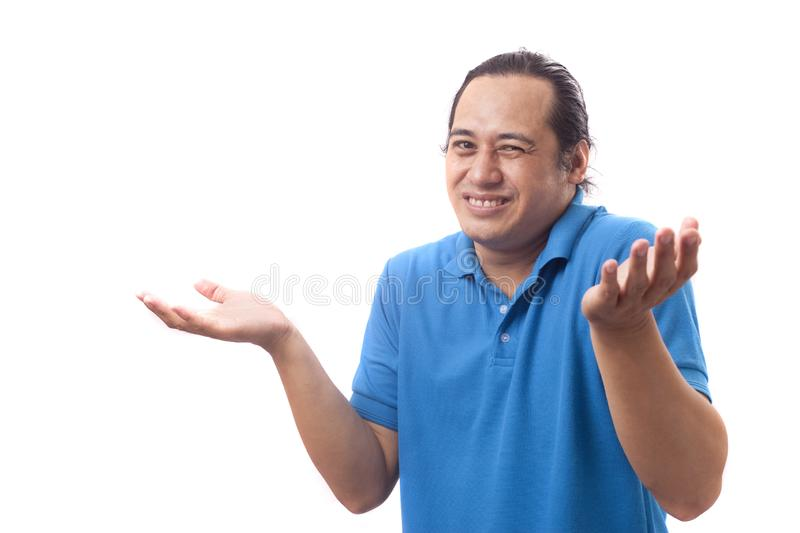 I Dont Know Gesture royalty free stock photo
