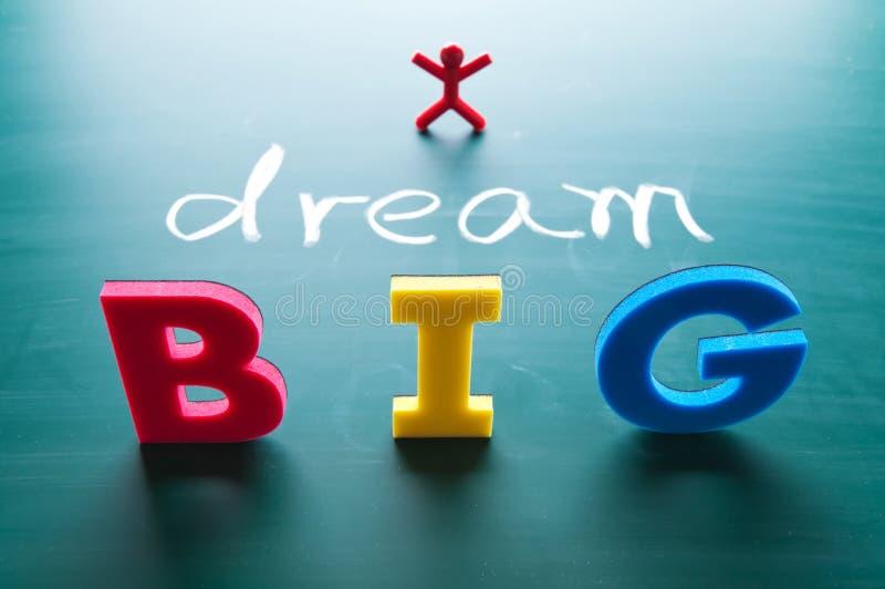 I dream big concept royalty free stock photo