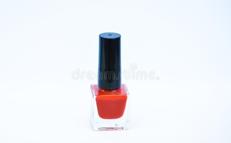 i E r 指甲油涂层的耐久性和质量 库存照片