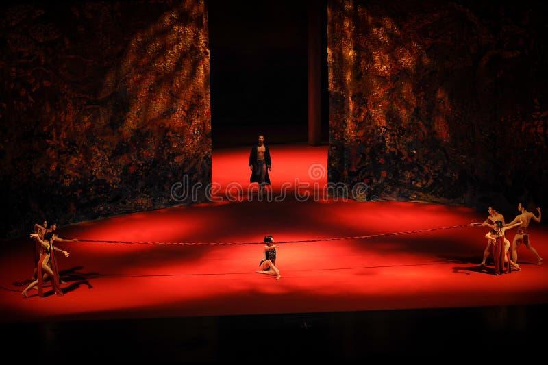 I fetters di balletto destino-moderno: Trollius chinensis fotografia stock libera da diritti