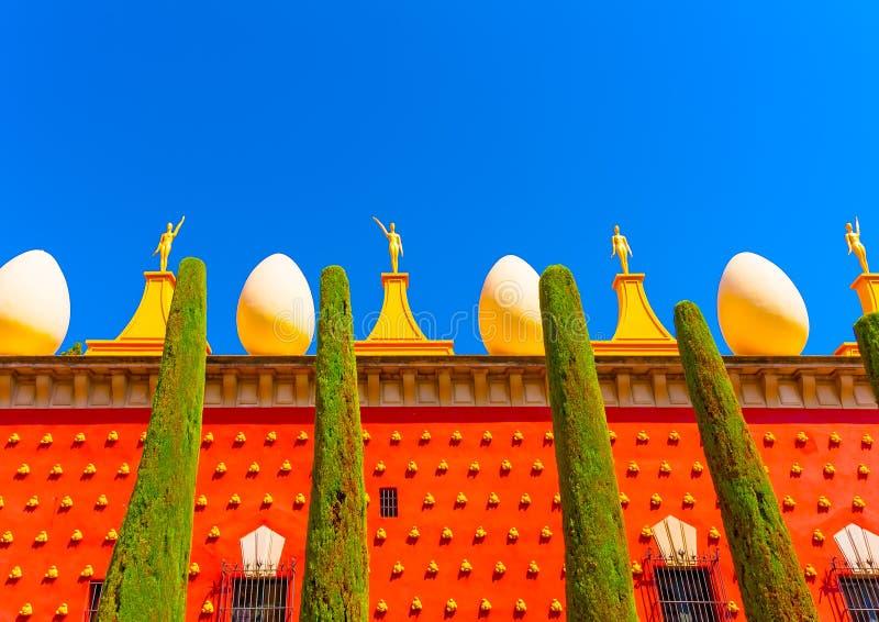 I Figueres i Spanien royaltyfria bilder