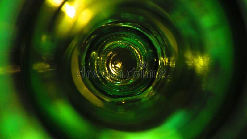 I flaskan arkivfoto