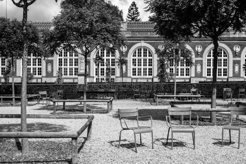 I giardini del Lussemburgo fotografia stock libera da diritti