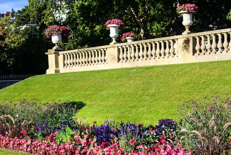 I giardini del Lussemburgo & il x28; Jardin du Lussemburgo & x29; a Parigi, la Francia fotografia stock