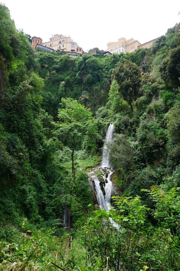 I giardini della villa D'este fotografia stock libera da diritti
