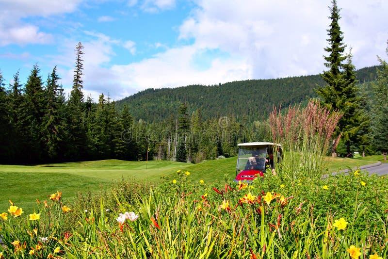 I giocatori di golf fotografie stock libere da diritti