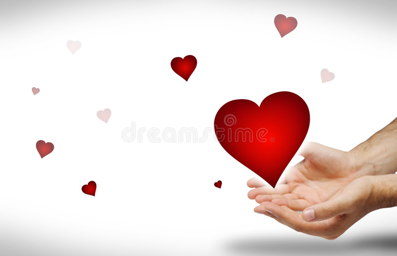 Download I give you all my love stock image. Image of hands, valentine - 4051431