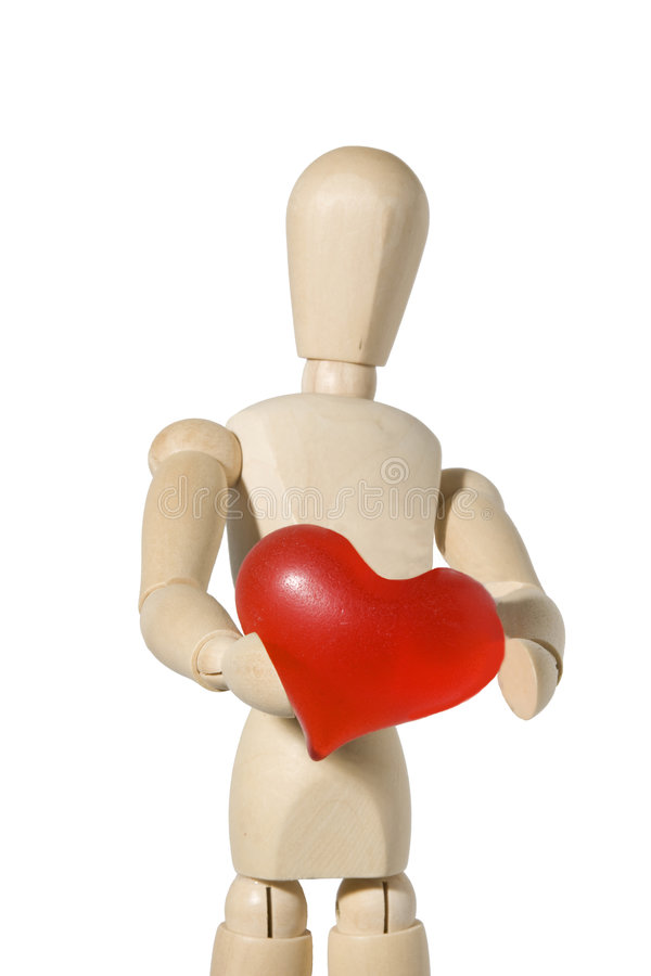 I give you my heart royalty free stock photo