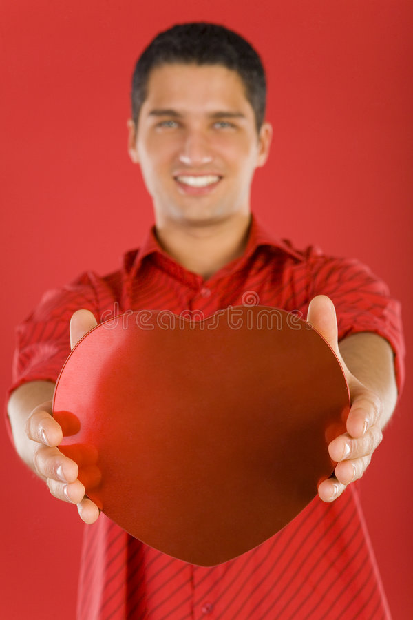 Download I give you my heart stock image. Image of heart, chocolates - 4046963