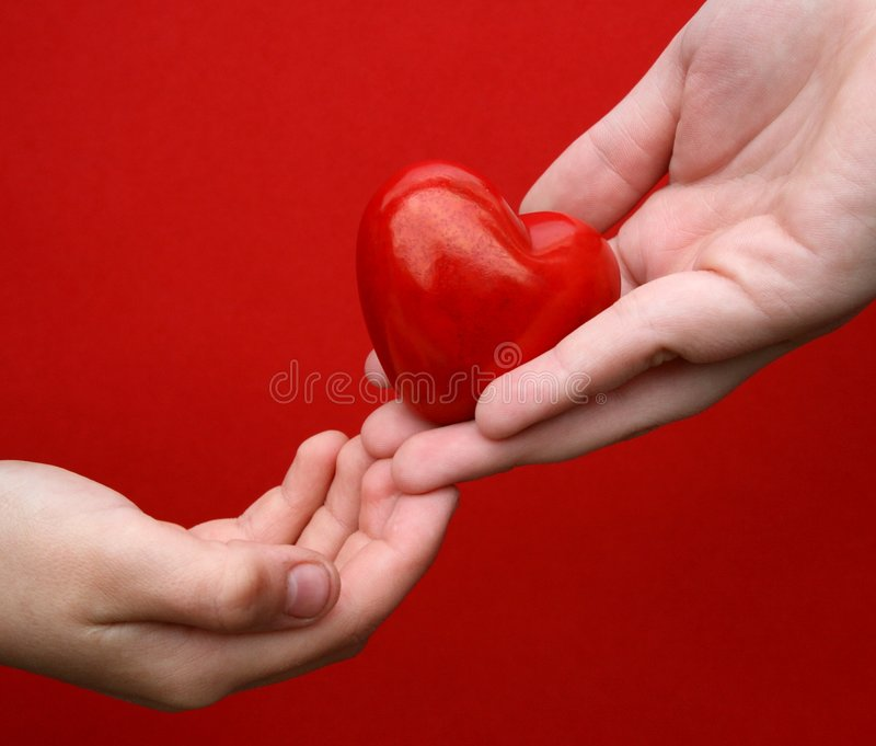 Download I Give You My Heart Stock Images - Image: 5950604