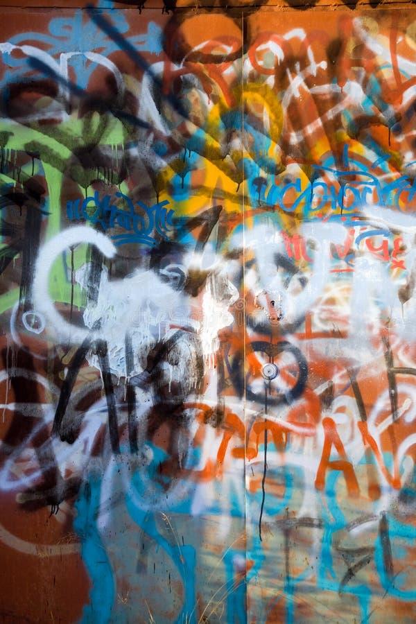 Download I graffiti fotografia stock. Immagine di fine, sudicio - 3895376