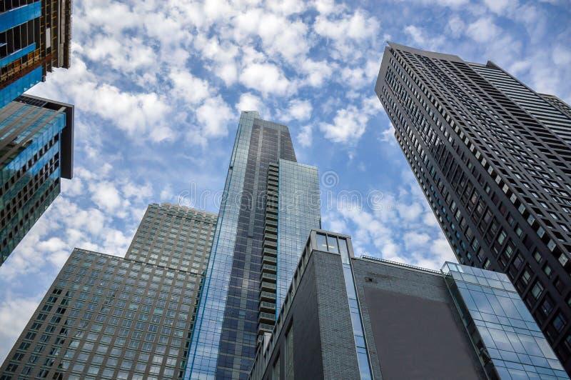 I grattacieli alti di affari fotografia stock libera da diritti