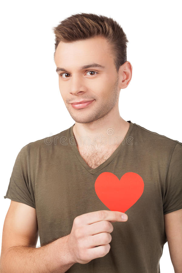 I guess I am in love. stock photography