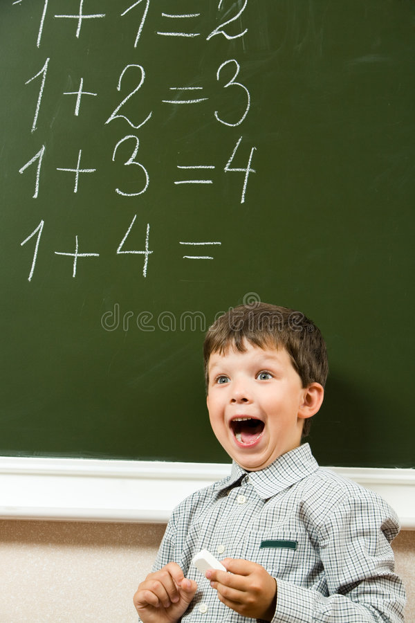 I guessed the answer! stock images