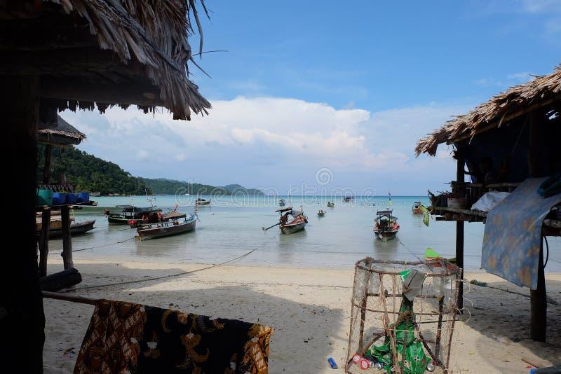 Morgan Village, Surin Island, Thailand 2017. I have been in Morgan Village, Surin Island, Thailand since 2017 royalty free stock photos