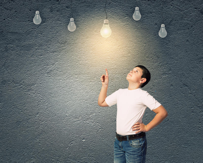 Download I Have Idea Stock Image - Image: 38546171