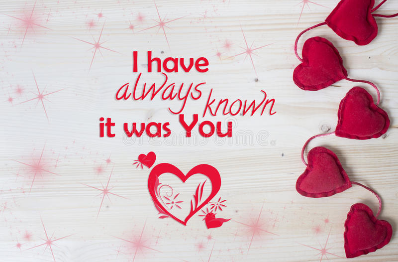 I have always known it was You stock image