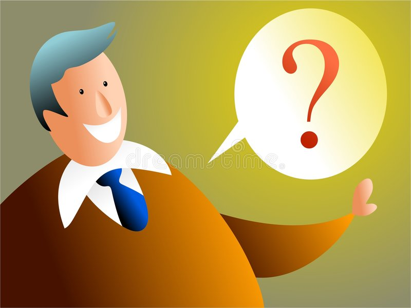 I have a question vector illustration