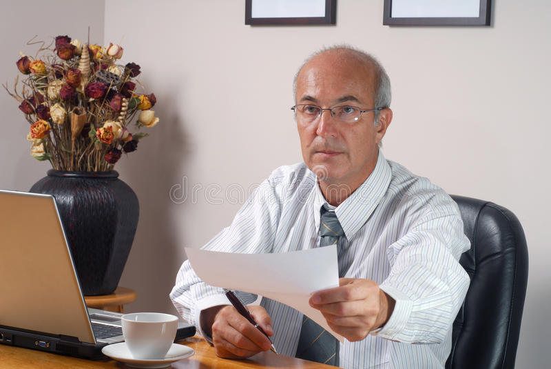 Download I Have Signed stock photo. Image of adult, paper, collar - 11057878