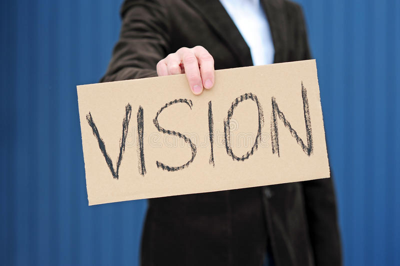 I Have A Vision Stock Photography