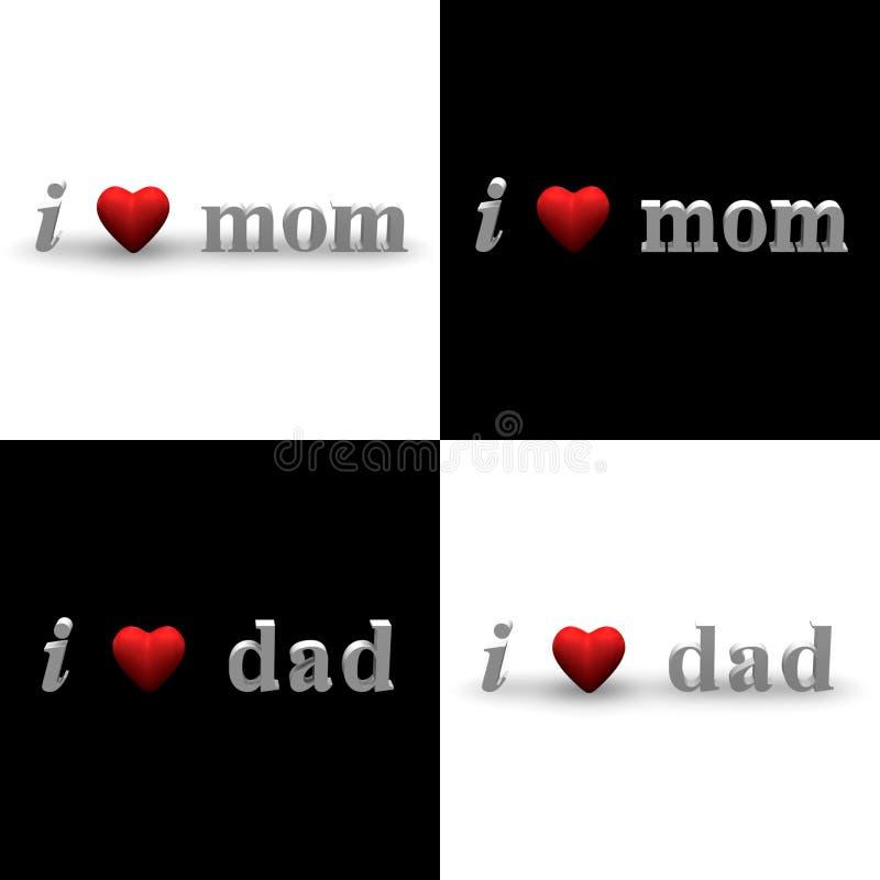 I Heart Mom, I Heart Dad