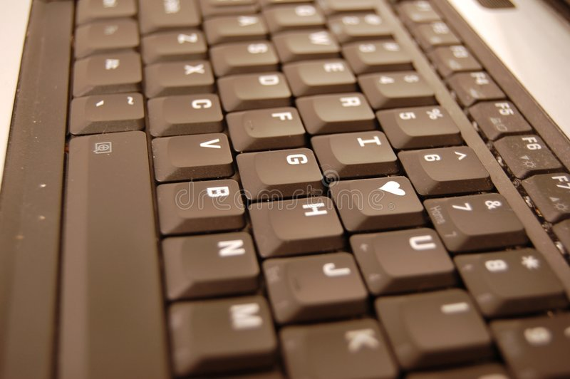 Download I HEART U, You Push My Buttons Stock Photo - Image: 3812932