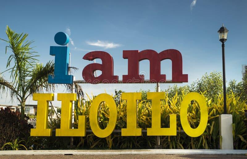 I am Iloilo royalty free stock photos