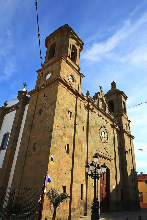 I imes del ¼ di Agà è un comune su Gran Canaria fotografia stock