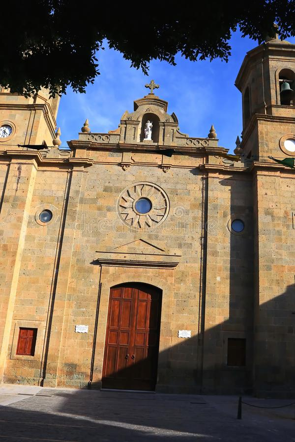I imes del ¼ di Agà è un comune su Gran Canaria immagini stock