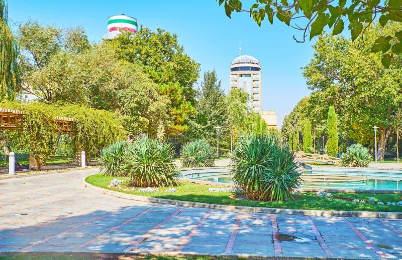 I Koudak parkera av Isfahan, Iran arkivfoto
