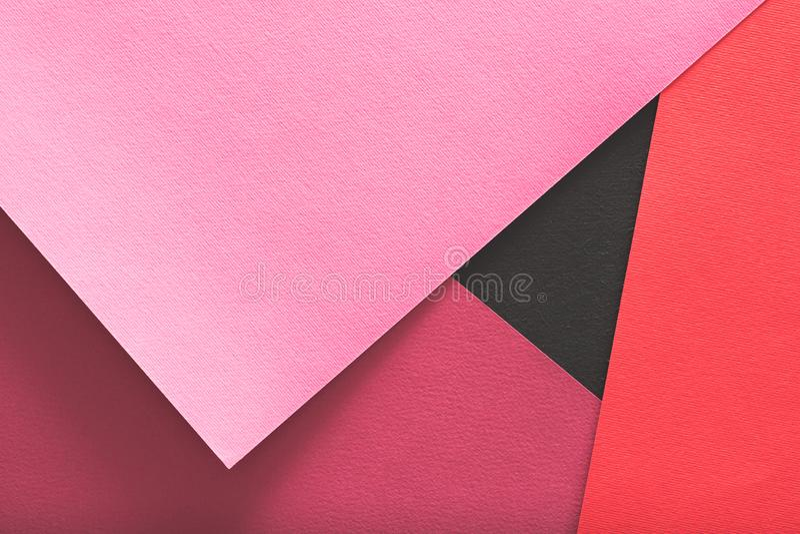 I lager design för rosa färger för bakgrund för konstruktionspapper fotografering för bildbyråer